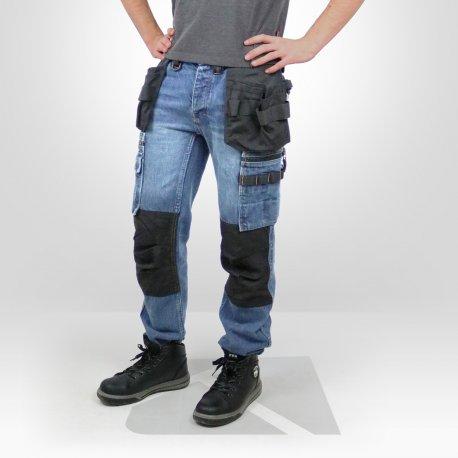 e7109931d9b Jean de travail Dunderdon P12 Denim - Kraft Workwear
