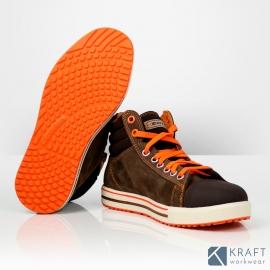 Chaussure de sécurité style converse Cofra Conférence semelle dessous trois quart