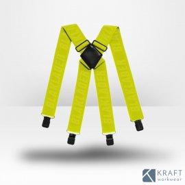 Bretelles pour pantalon de travail Blaklader jaune