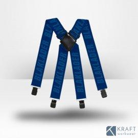 Bretelles pour pantalon de travail Blaklader marine