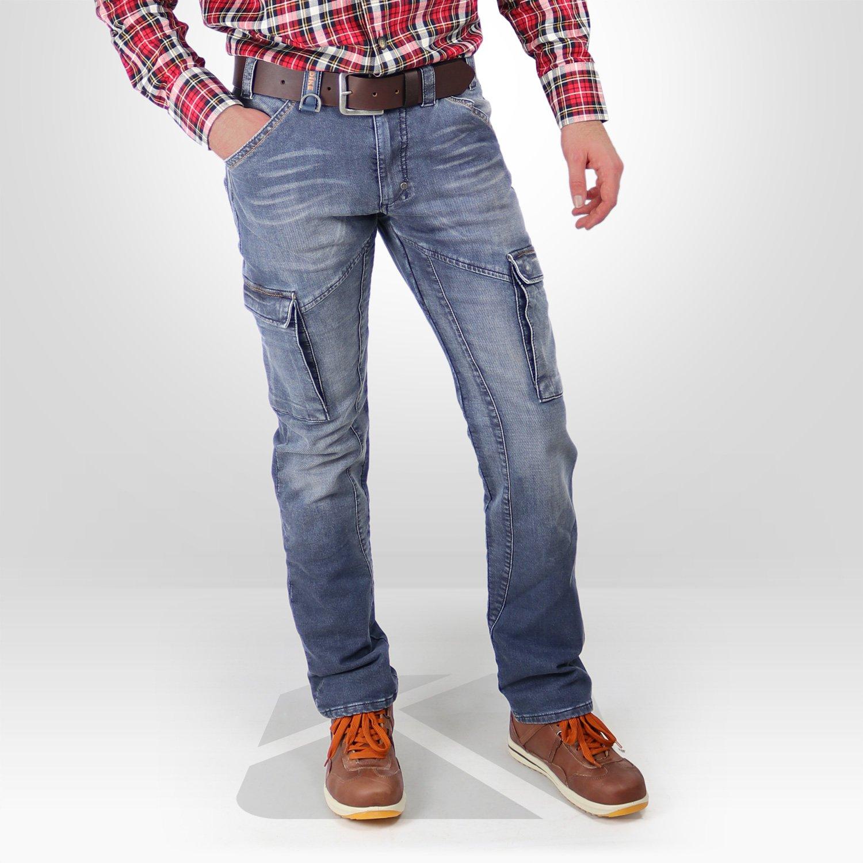 pantalon de travail en jeans dike partner kraft workwear. Black Bedroom Furniture Sets. Home Design Ideas