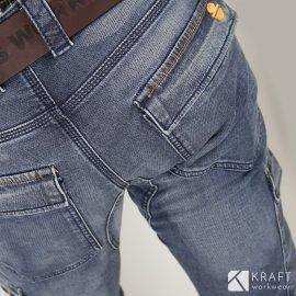 Pantalon de travail en jeans Dike Partner
