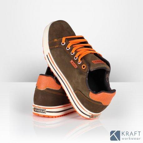 Chaussure de sécurité style sneakers Cofra Roster Kraft
