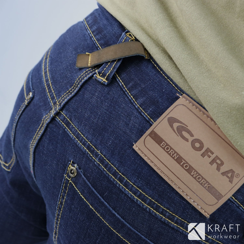 Manacor Travail Kraft Jeans En Workwear Cofra Short De LSqVGUpzM