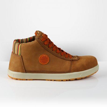 Chaussures de sécurité hautes Breeze Dike brun tabac
