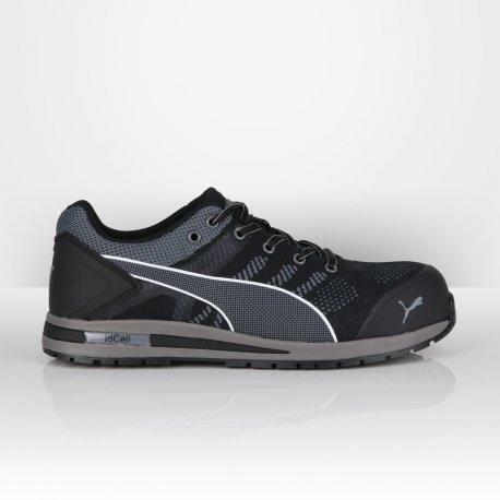 217acb238ce10 Chaussure de sécurité Puma S1P Elevate Knit Black - Kraft Workwear