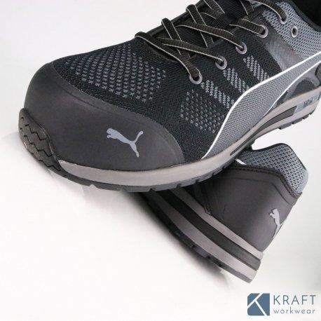 Chaussure de sécurité Puma S1P Elevate Knit Black Kraft