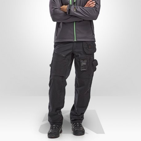 Pantalon de travail hiver softshell Blaklader X1500