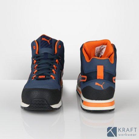 Montante Crosstwist Sécurité Mid Kraft Basket Workwear Puma De EwfI5xHq