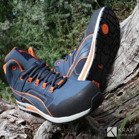 Chaussure de securite montante Crosstwist MID S3 Puma