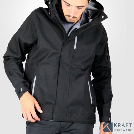 Workwear Veste Pluie De Kraft Travail Boris Fhb 0x1YZFqSw