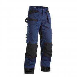 Pantalon artisan bicolore Blåkläder bleu