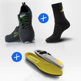Pack Monti + semelles + 3 paires de chaussettes OFFERTES !