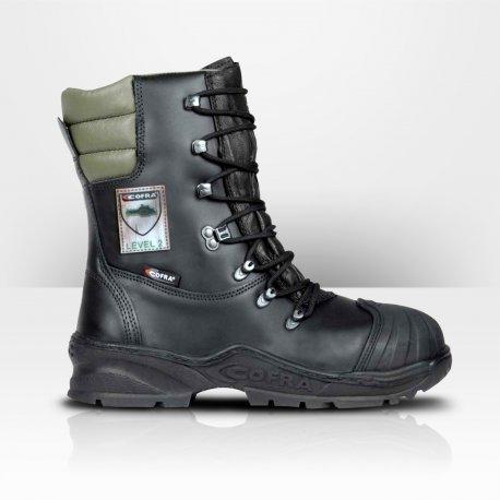 Chaussures de sécurité anti-coupures pour bûcheron