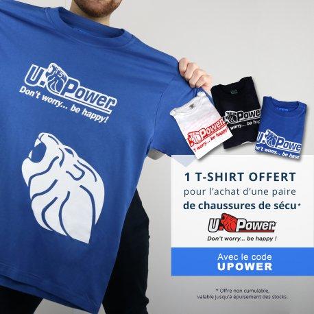 T shirt Upower offert