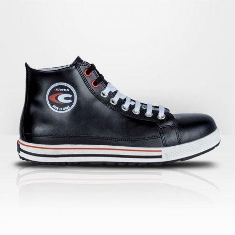 fe8d658769918 Chaussure S3 converse cuir Cofra Dunk - Kraft Workwear