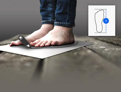 Guide des tailles Kraft Workwear pour les chaussures